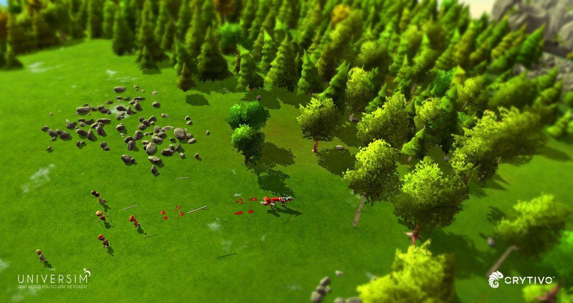 hunting nuggets the universim