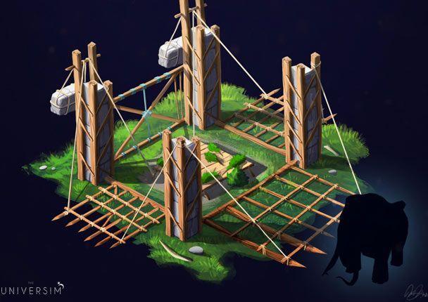 trap the universim