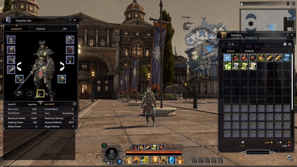 bless-online-graficos
