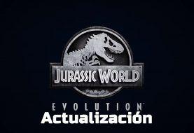 Jurassic World Evolution y su actualización de contenido