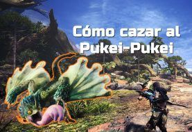 Cómo cazar un Pukei-Pukei en Monster Hunter World