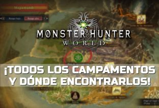 Guía: Campamentos de Monster Hunter World