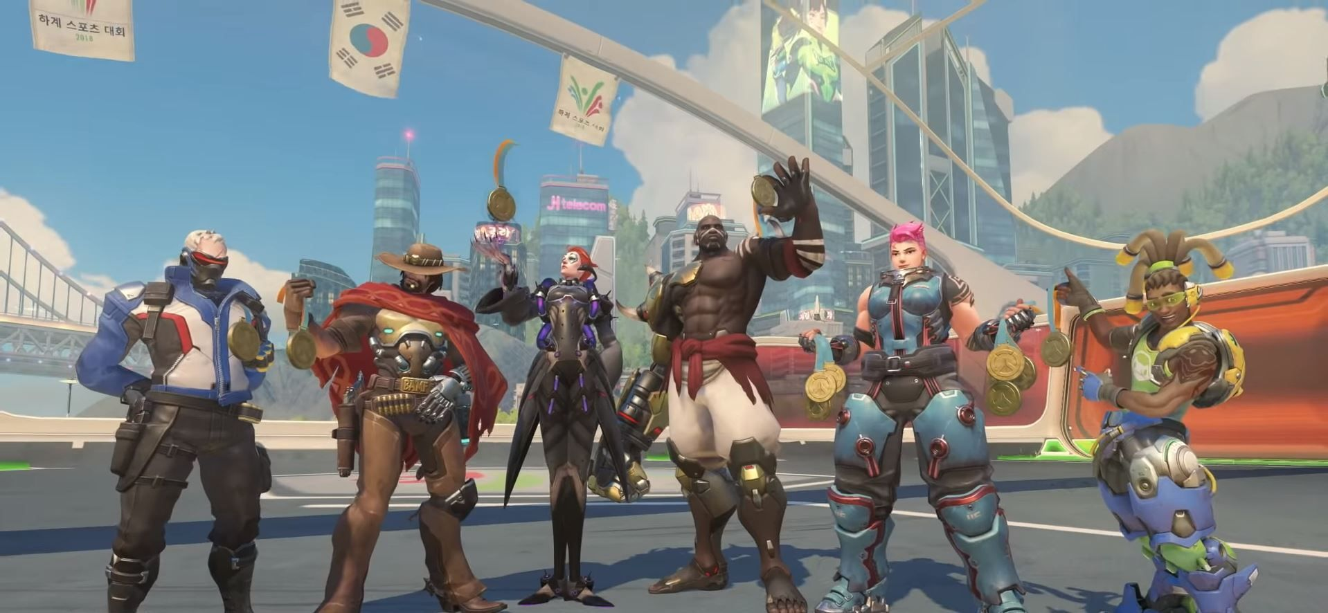 Overwatch juegos de verano 2018 imagen 2