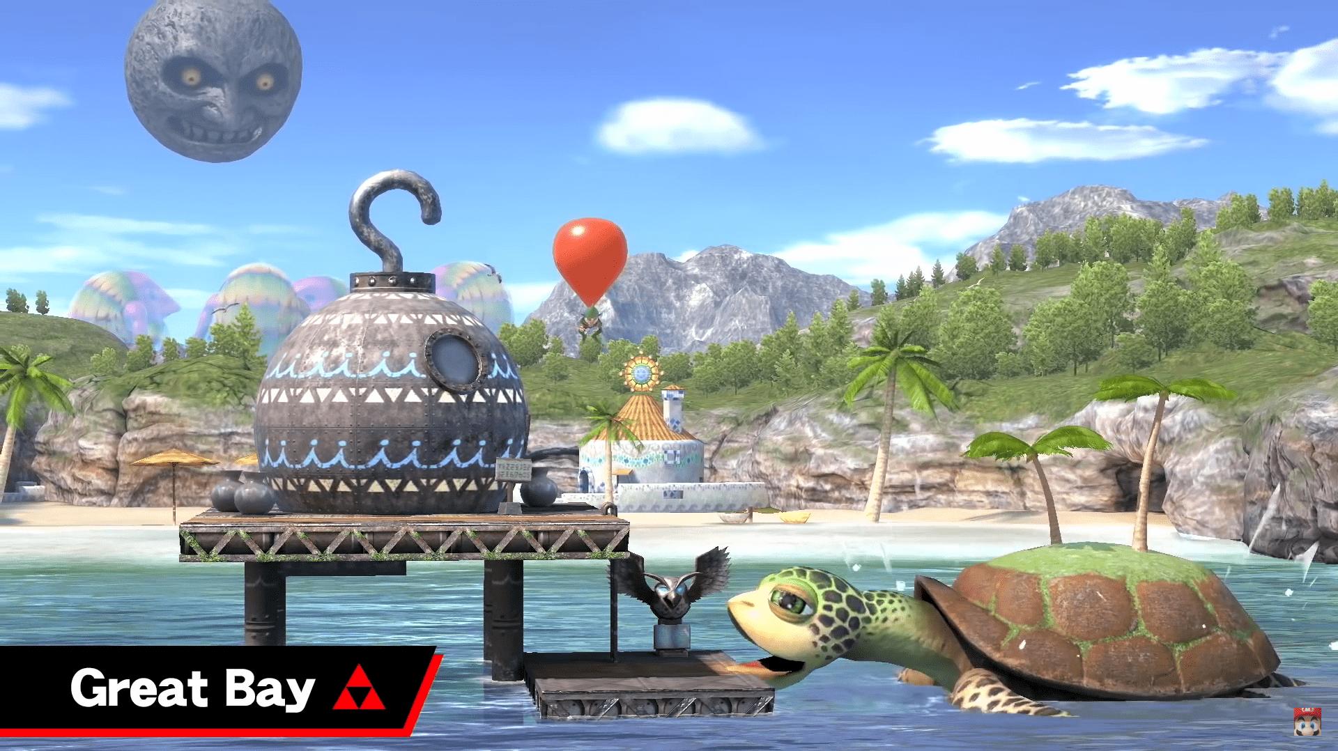 Super Smash Bros ultimate nintendo direct escenario 1