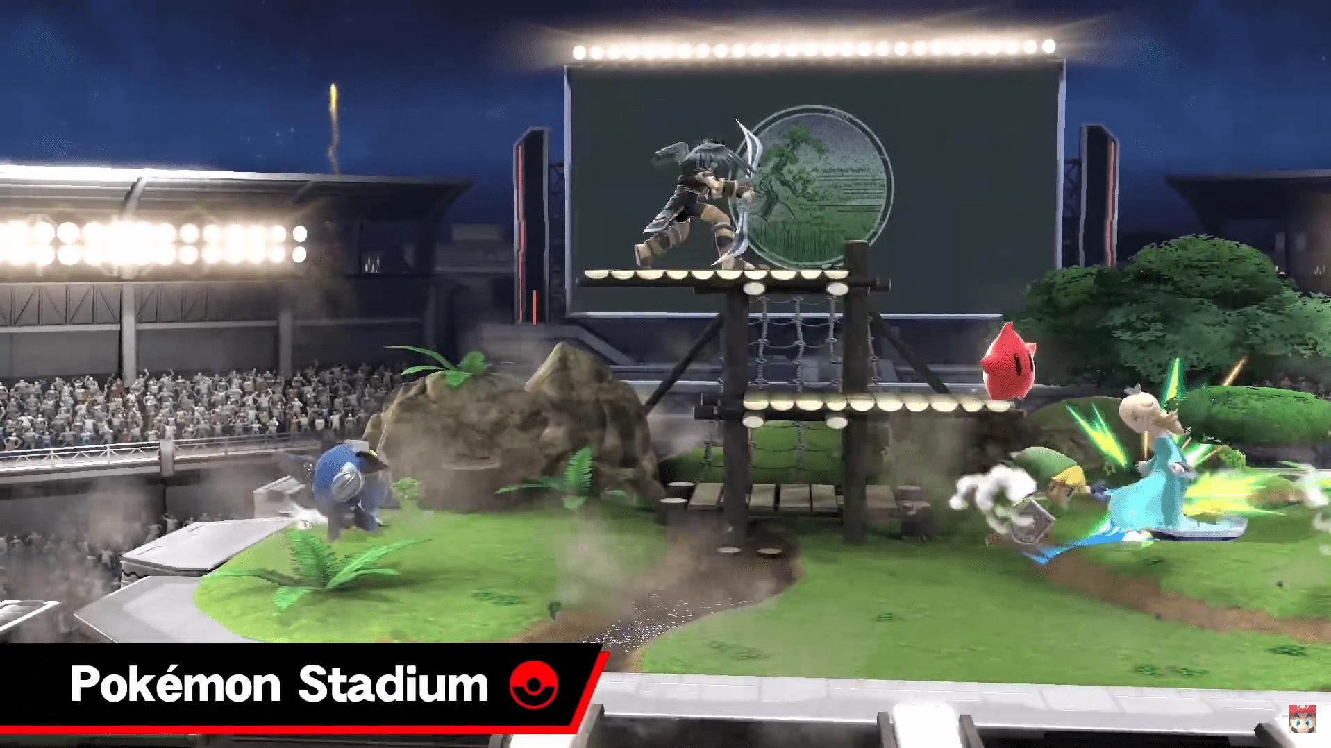 Super Smash Bros ultimate nintendo direct escenario 7
