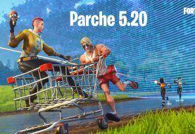 Fortnite se actualiza a la versión 5.20