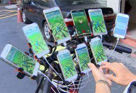 El mayor fan de Pokemon Go, 70 años y con 9 teléfonos a la vez