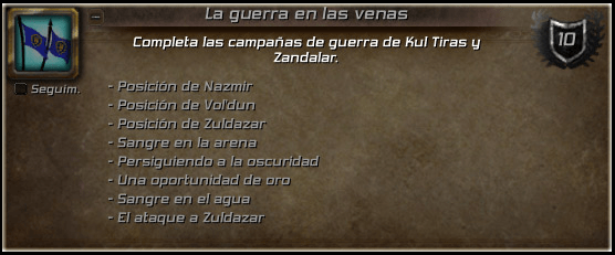 volar en Battle for Azeroth