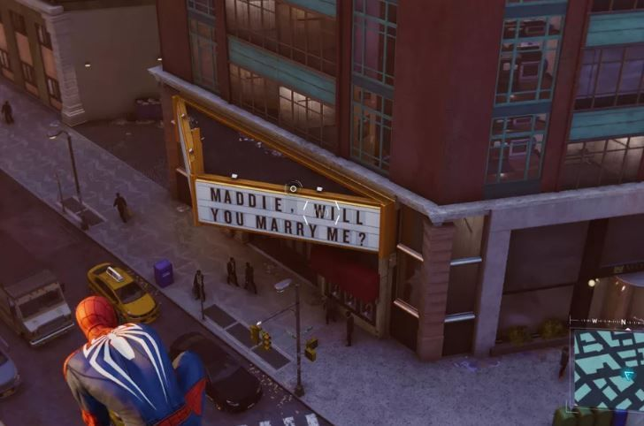 Marvel's Spider-Man easter egg img 1