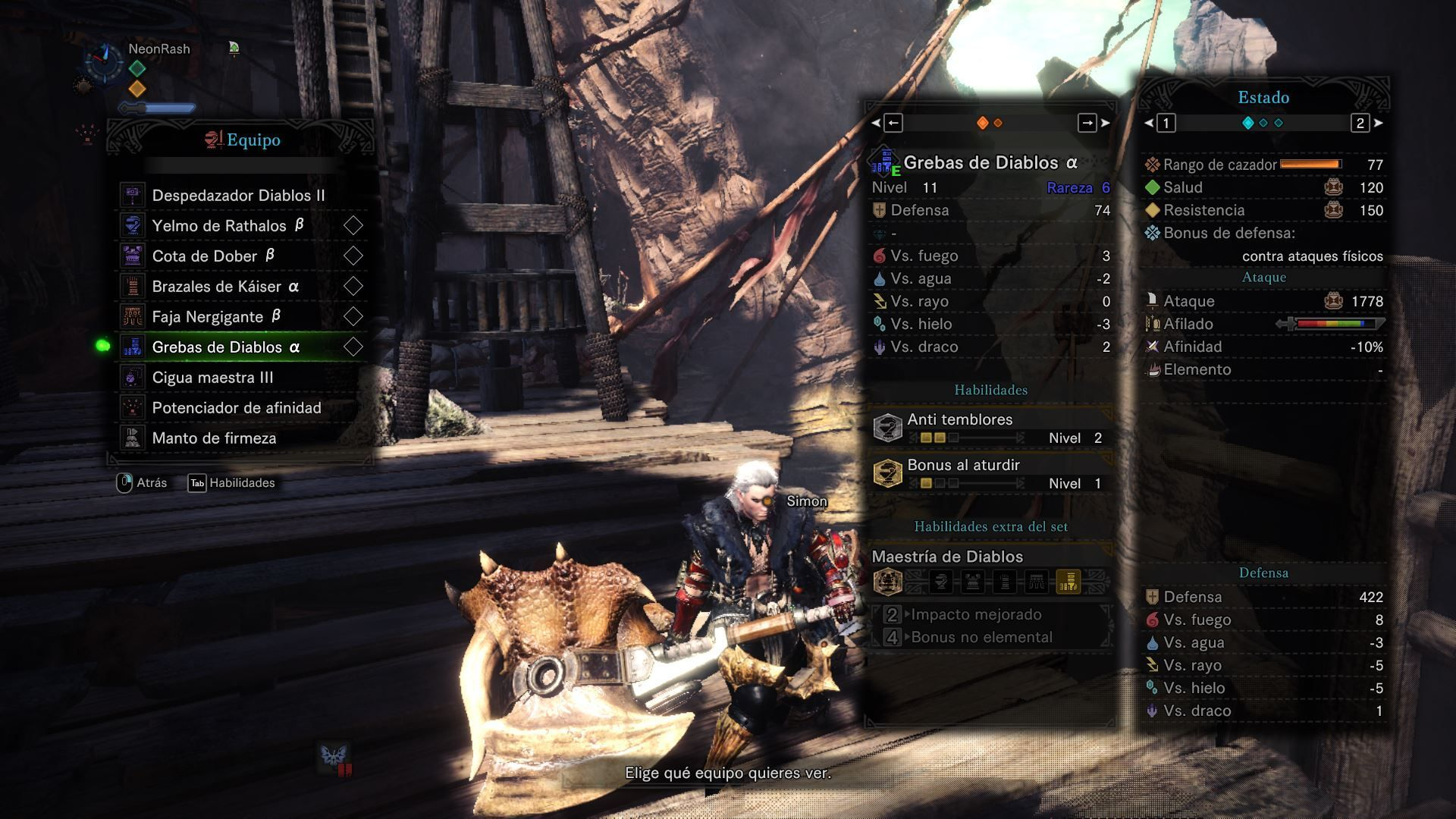 Monster Hunter World build martillo img 3