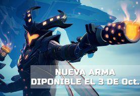 Disponible la nueva arma de Dauntless el 3 de octubre