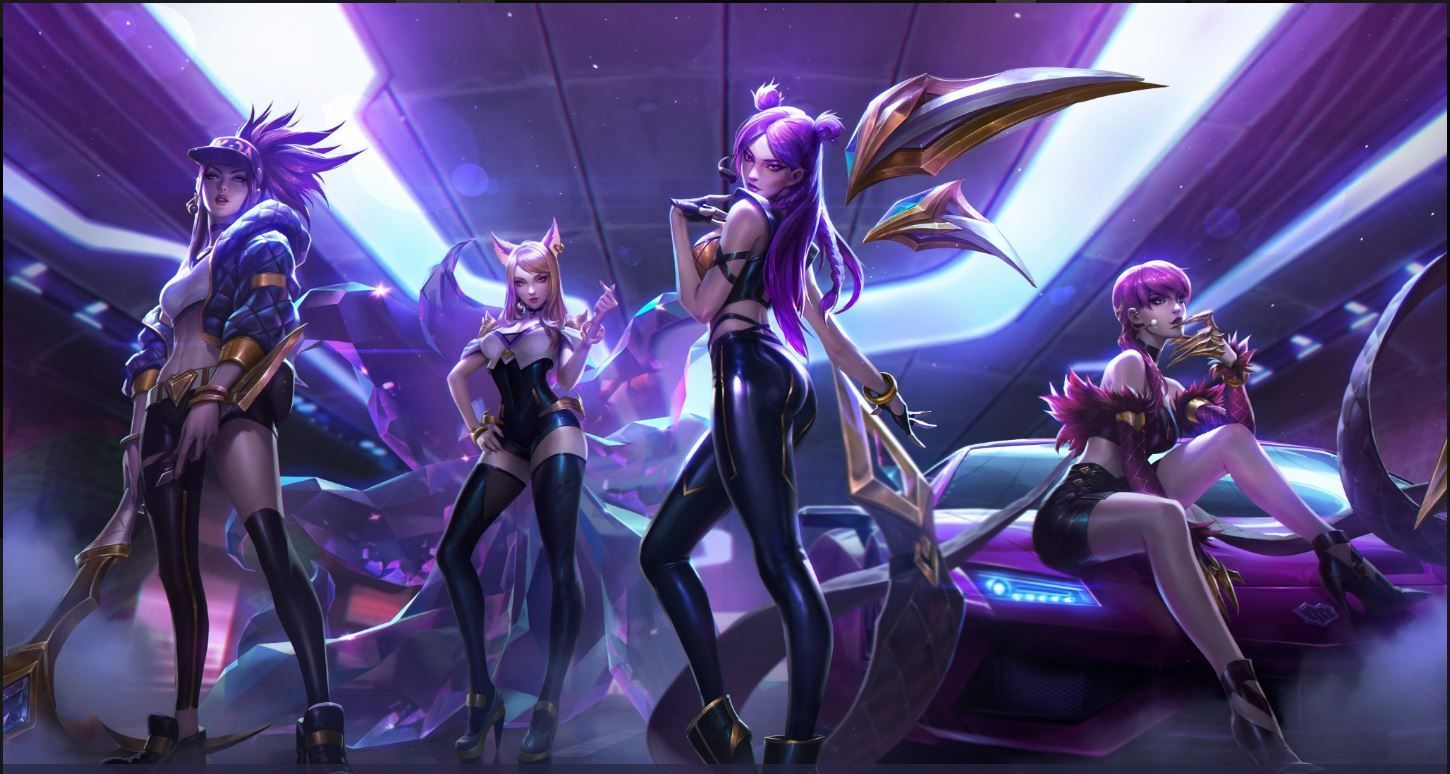 Skin K/DA de League of Legends img 1