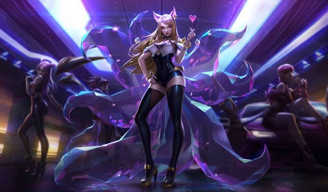 Skin K/DA de League of Legends img 2