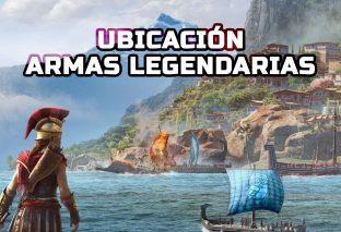 Ubicación de las armas legendarias de Assassin's Creed Odyssey