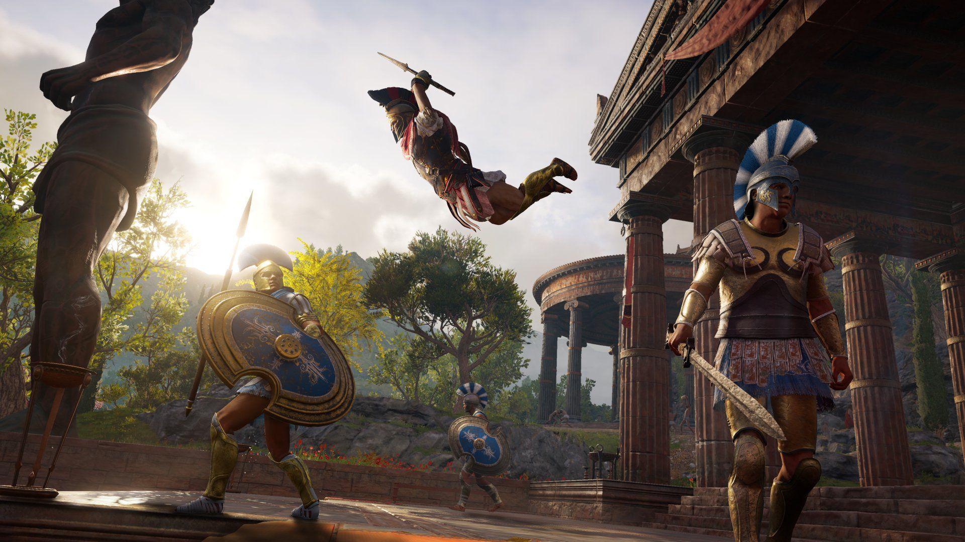 Ubicación armas legendarias de Assassin's Creed Odyssey img 1