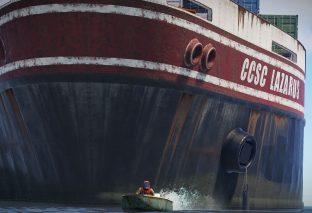 Rust añade un buque de carga en su nueva actualización